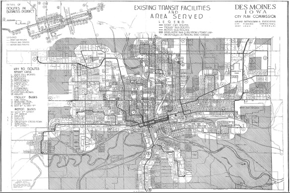 Des Moines Comprehensive Plan 1940s