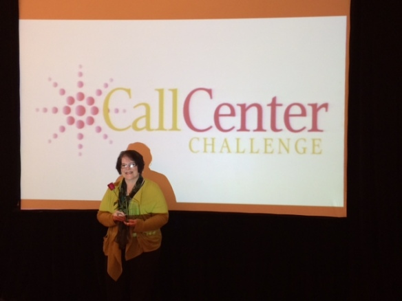 Hadley at Call Center Challenge