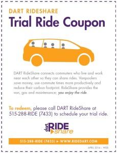 rideshare coupon